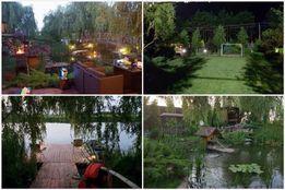 Дом посуточно на Днепре. Рыбалка, лес, бассейн, лучшее место.