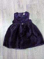 Elegancka sukienka dla dziewczynki rozm:80