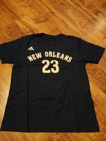 Koszulka Adidas New Orleans Davis koszykówka 10/12 lat