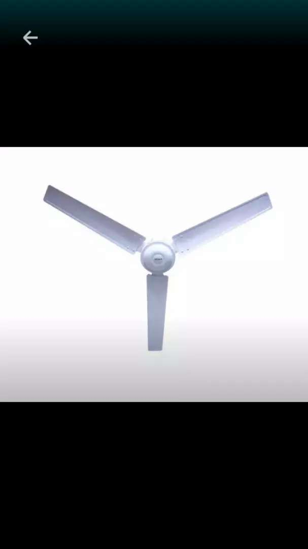 "Delron 56"" Plain Ceiling fan 0"