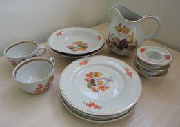 Детский набор посуды, Барановка