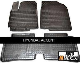 Коврик резиновый для HYUNDAI Accent\Creta\Tucson\Granduer\і - 10
