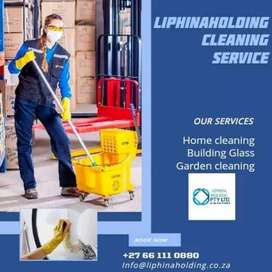 Liphina holding cleaning service