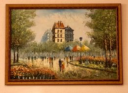 Картина «Париж», Х. Паскаль, холст, масло, Испания.