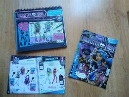 Разукрашка и в подарок аксессуары для поклонниц Monster High)