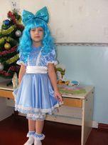 Прокат новогоднего костюма Елка, Мальвина, Принцесса, Снежинка, Павлин