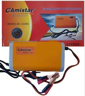 12V 20A Intelligent Battery Charger with Reverse & Over Current Protec