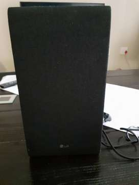 Sony Sound Bar and Sub Woofer for sale.