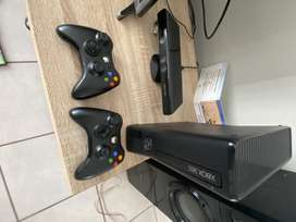 Xbox 360 kinetics with various games