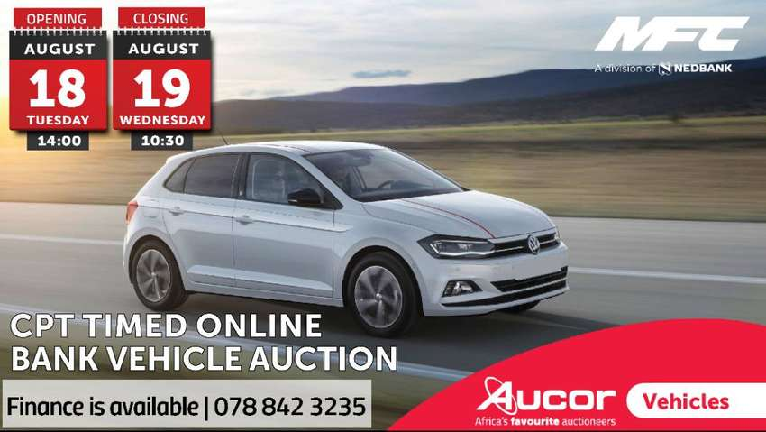 Timed Online Bank Vehicle Auction 0