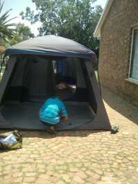 Image of Family Cabin tent Demo