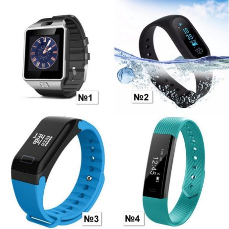 Фитнес браслет F1 шагомер пульсометр давление умные смарт часы (Xiaomi Кривой Рог - изображение 8