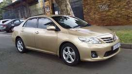 2012  TOYOTA COROLLA PROFESSIONAL 2.0 MANUAL