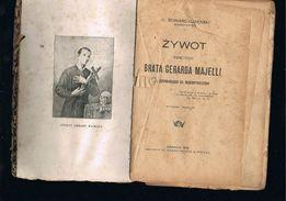 "Książka ""Zywot Gerarda Majelli """