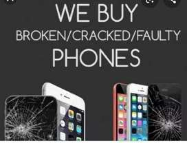 We buy broken IPHONES For parts