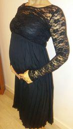 Sukienka ciążowa koronkowa świąteczna