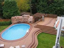 Building new swimming pool and renovation