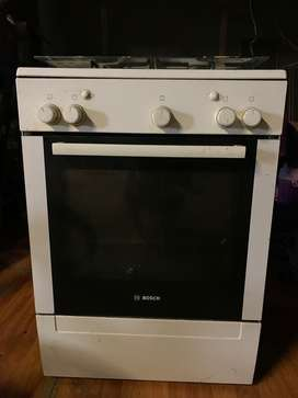Bosch Gas oven and 4 gas stove tops