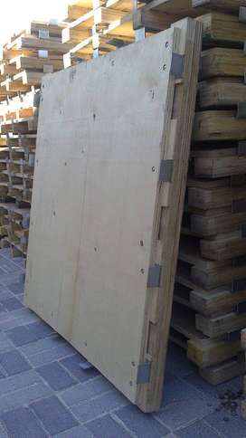 Shutterply, 21mm plywood pallets