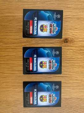 3 Messi cards