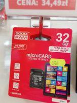 KARTA pamięci SD GoodramUHS1 CL10 32GB + ADAPTER