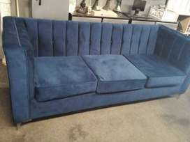 Brand new Mordena velvet 3seater couch available in different colours