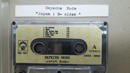 Depeche Mode Japan B-Sides Kaseta