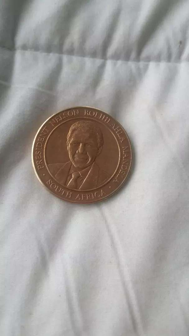 Nelson Mandela by act of Congress 1998 Coin 0