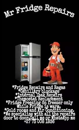 We do Fridge Repairs
