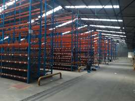 Used Racking Parcel for sale in Clean condition! - 100 Bays