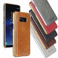 Премиум чехол нат.кожа Pierre Cardin Samsung Note 5 7 8 OnePlus 3 S8+