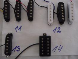 Przetworniki , przystawki , humbuckery do gitar elektrycznych