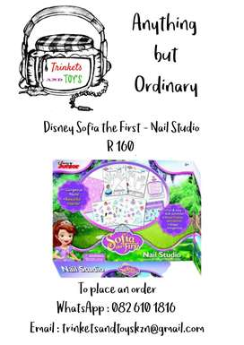 Disney Sofia the first - Nail Studio
