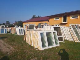 Okna PCV używane z demontażu z Niemiec! Najlepsza cena!
