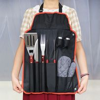 Набор для барбекю и гриля/лопатка/щипцы для мяса/фартук Stenson