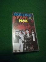 Kaseta VHS -Rolling Stones Max -Live