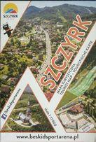 SZCZYRK - mapa turystyczna