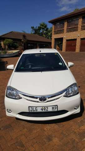 Toyota Etios 2017 1.5 XS/Sprint 5dr hatch in mint condition for sale.