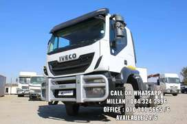 2016 Iveco Trakker 440hp double diff truck up for grabs