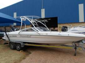 Panache 2250 with 225Hp Mercury Optimax outboard motor
