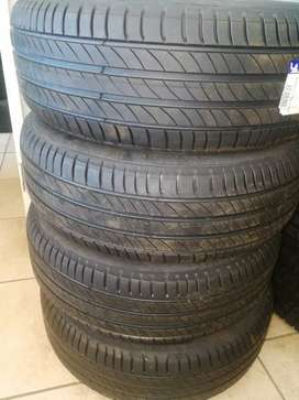 Brand new 215 /55 /17 Michelin tyres for sale.