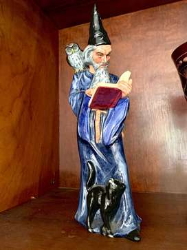 Royal Doulton The Wizard Porcelain Figurine