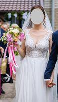 Suknia ślubna Jonel rom. 38