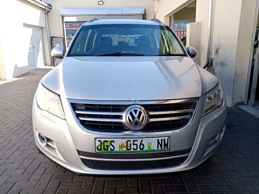 2008 Vw Tiquan 2.0 engine 0