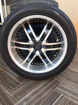20inch Tyres and Rims