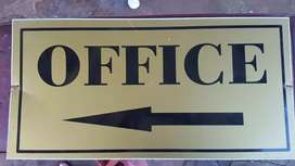 Left arrow office SIGN