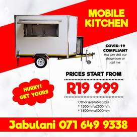 Mobile kitchen/ Mobile Freezer/ Mobile toilet/ Mobile fridge for sale