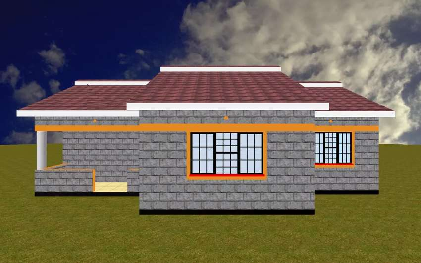 3bedroom architectural plan 0