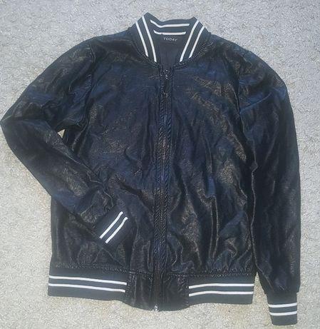 Оригинал.фирменная,итальянская куртка-бомбер бренда today Коростень - изображение 1