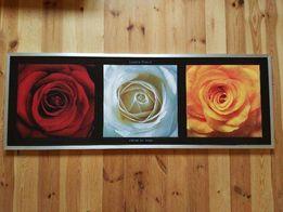 Obraz Laurent Pinsard - Coeurs De Roses 150x55